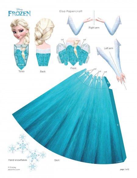 Cómo hacer un disfraz de Elsa casero