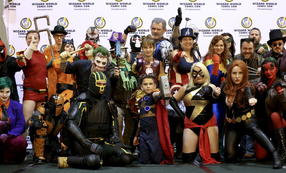 La Comic Con ha llegado