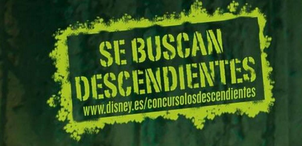 Promoción Disney con Descendientes