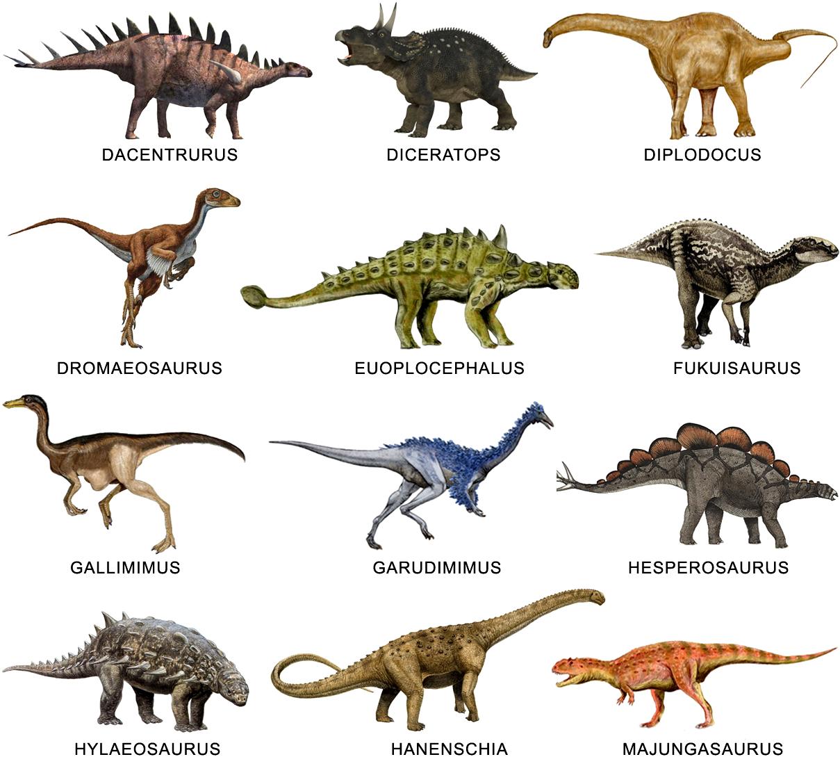 Los niños y los dinosaurios