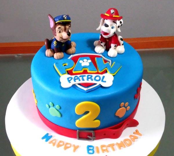 Cumpleaños tematizado de Patrulla Canina