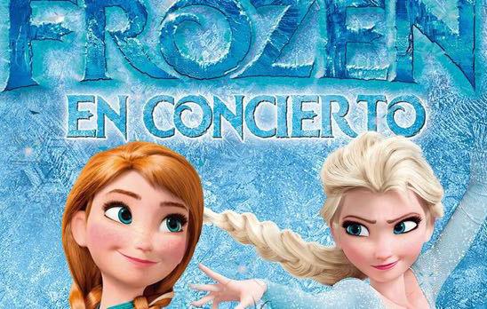 'Frozen' en concierto en noviembre