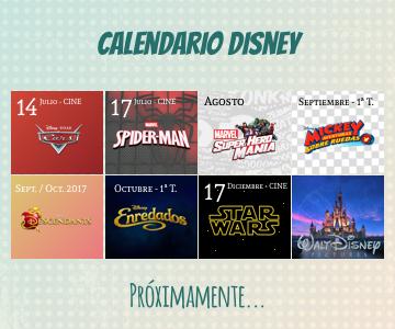 Últimos estrenos de Disney para 2017